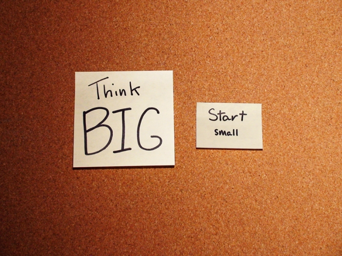 Think Big, Start Small and Act NOW!