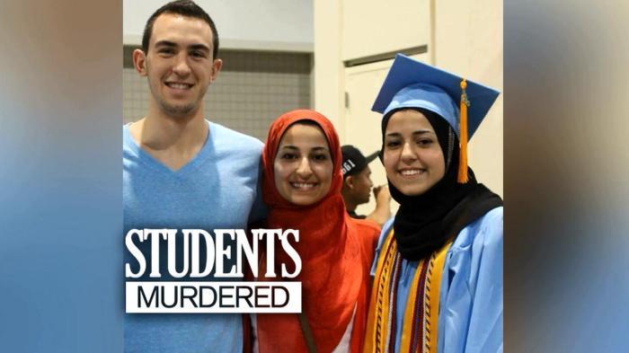 Charpel Hill Shooting, bentuk kekejaman terhadap 3 insan suci. #CharpelHillShooting #MuslimLiveMatters