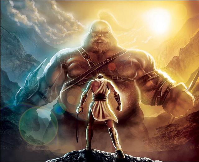 David (goliath) VS Goliath(david)